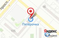 Схема проезда до компании 1000 мелочей в Нижнекамске