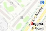 Схема проезда до компании Виктория в Нижнекамске