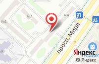 Схема проезда до компании Камский коммерческий банк в Нижнекамске
