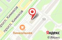 Схема проезда до компании ЦТК-ЕВРО в Нижнекамске