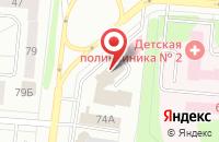 Схема проезда до компании Вазифа в Нижнекамске