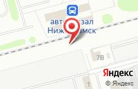 Схема проезда до компании Технологические фильтры в Нижнекамске