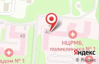 Схема проезда до компании Городская поликлиника №1 в Нижнекамске
