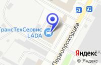 Схема проезда до компании ТД КРАСНЫЙ ВОСТОК в Нижнекамске