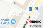 Схема проезда до компании ТТС в Нижнекамске