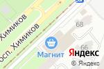 Схема проезда до компании Comepay в Нижнекамске