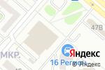 Схема проезда до компании Сеть магазинов в Нижнекамске