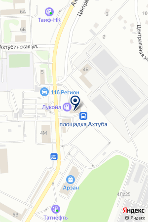 АЗС № 14 ЛУКОЙЛ-УРАЛНЕФТЕПРОДУКТ на карте Нижнекамска