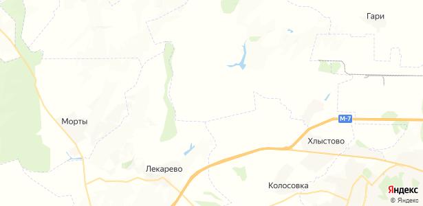 Малоречинский на карте