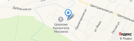 Танаевская средняя общеобразовательная школа на карте Танайки