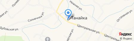 Ермак на карте Танайки