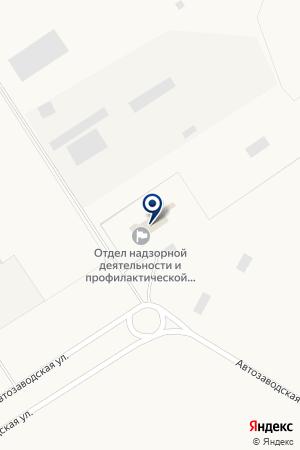ТФ КАМАЗАВТОТЕХНИКА на карте Заинска