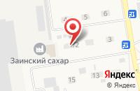 Схема проезда до компании Шикар-Сервис в Заинске