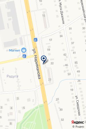АВТОСЕРВИСНАЯ ФИРМА ИНЖЕКТОР на карте Заинска