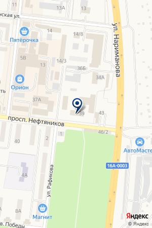 ОТДЕЛ ВНУТРЕННИХ ДЕЛ Г. ЗАИНСК И ЗАИНСКОГО РАЙОНА на карте Заинска