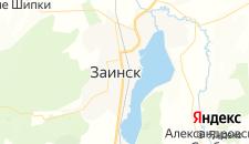 Отели города Заинск на карте