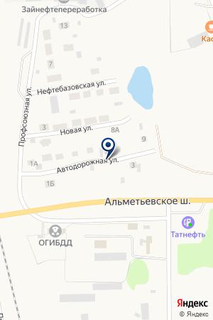 ЗАИНСКИЙ ФИЛИАЛ СТРАХОВАЯ КОМПАНИЯ ПРАВООХРАНИТЕЛЬНЫХ ОРГАНОВ на карте Заинска