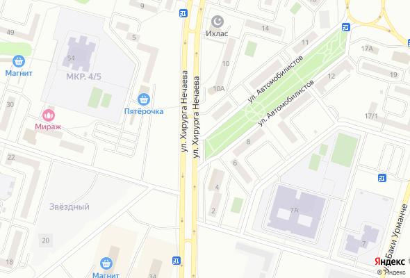ЖК ул. Автомобилистов