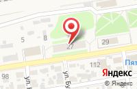 Схема проезда до компании Унистрой в Ореховке