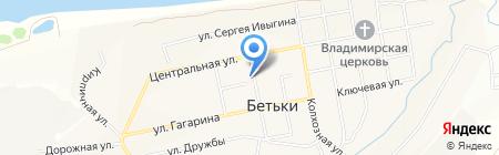 Бетькинская амбулатория на карте Бетьков