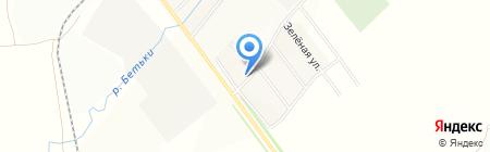 Азалия на карте Бетьков