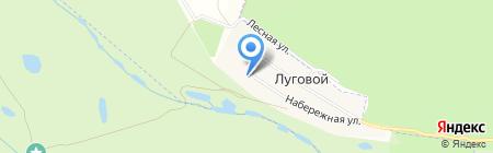 В Луговом на карте Бетьков