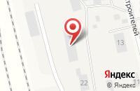 Схема проезда до компании Автосервис в Круглом Поле