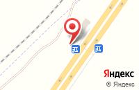 Схема проезда до компании Шиномонтажная мастерская в Круглом Поле