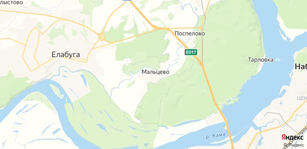 Мальцево на карте