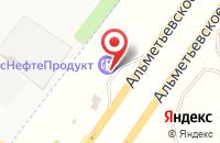 Схема проезда до компании АЗС ТрансНефтеПродукт в Круглом Поле