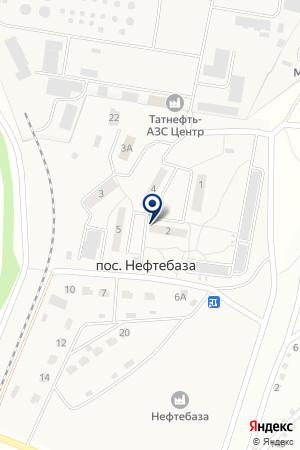 ТФ ЧУЛМАН-ТРАНС на карте Набережных Челнов
