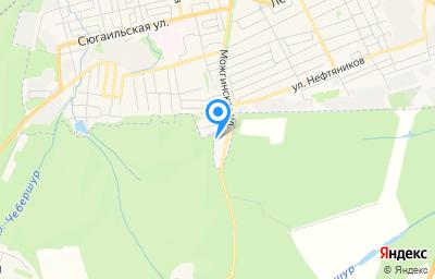 Местоположение на карте пункта техосмотра по адресу Респ Удмуртская, г Можга, ул Можгинская, д 156