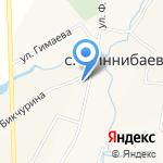 Миннибаевский сельский исполнительный комитет на карте Альметьевска