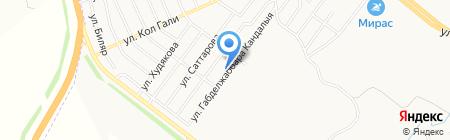 ЦВЕТОЧНЫЙ РАЙ на карте Альметьевска