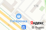 Схема проезда до компании Люби себя в Альметьевске