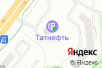 Схема проезда до компании Татнефть-АЗС Центр в Альметьевске