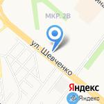 Лада на карте Альметьевска