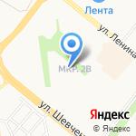 Средняя общеобразовательная школа №25 им. 70-летия нефти Татарстана на карте Альметьевска