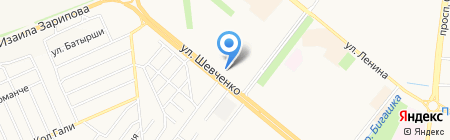 Сеть платежных терминалов АКИБ АКИБАНК на карте Альметьевска