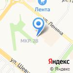 Бэлэкэч на карте Альметьевска
