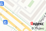 Схема проезда до компании Я люблю в Альметьевске