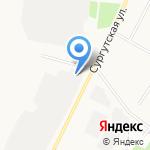 Альметьевск-Автодор на карте Альметьевска