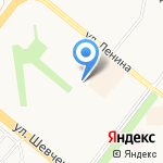 Палитра на карте Альметьевска