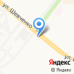 Олимп на карте Альметьевска