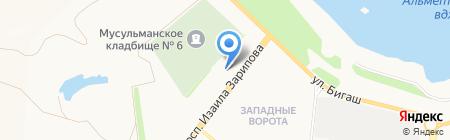 Банкомат АБ Девон-кредит на карте Альметьевска