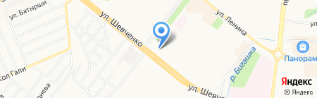 Агата на карте Альметьевска