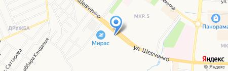 АЗС Таиф-НК на карте Альметьевска