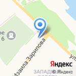 Васянин А.Ю. на карте Альметьевска