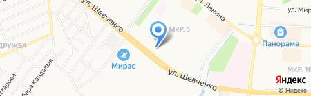 РОСТ БАНК на карте Альметьевска