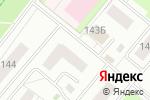 Схема проезда до компании Халял Ит в Альметьевске